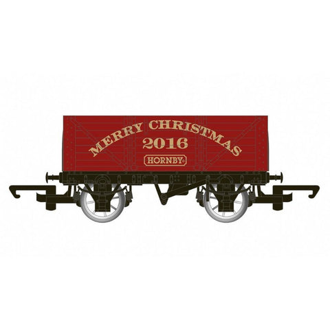 HORNBY CHRISTMAS WAGON 2016 - LIMITED EDUITION R6777