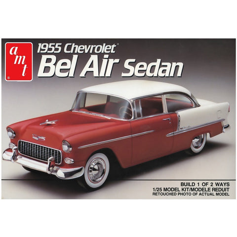 AMT 1:25 1955 Chevy Bel Air Sedan Plastic Kit