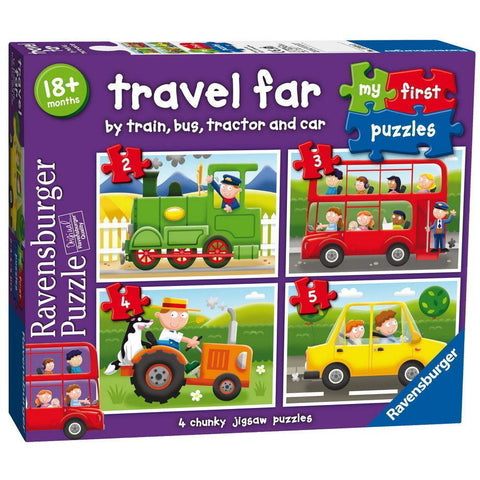 Ravensburger - Travel Far My First Puzzle 2 3 4 5pc (RB0730