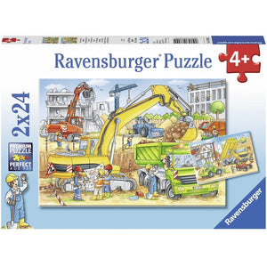 Rburg - Hard at Work Puzzle 2x24pc