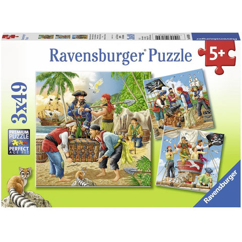 Rburg - Adventure on the High Seas Puzzle 3x49pc