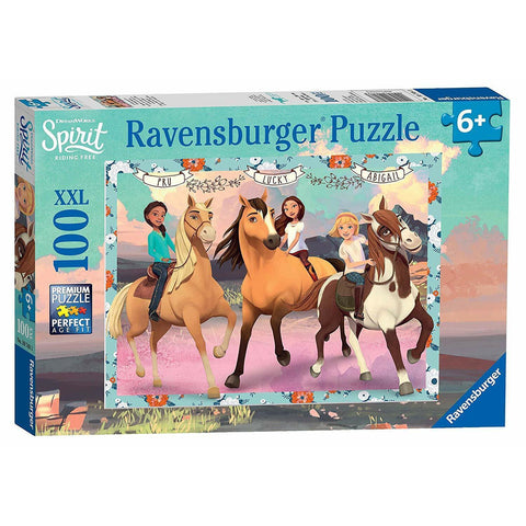 Ravensburger - Spirit Lucky and her Friends 100pc (RB10748-