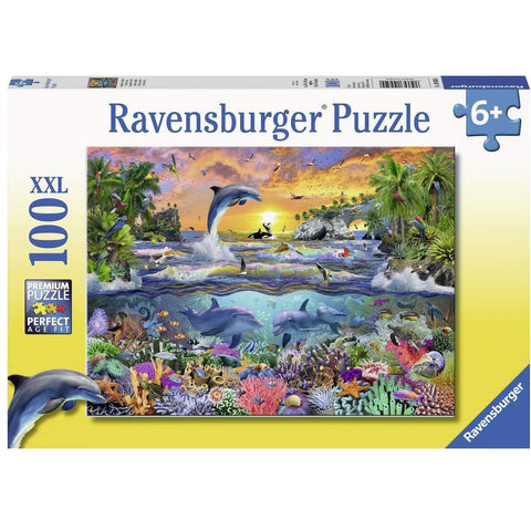 Ravensburger - Tropical Paradise Puzzle 100pc (RB10950-0)