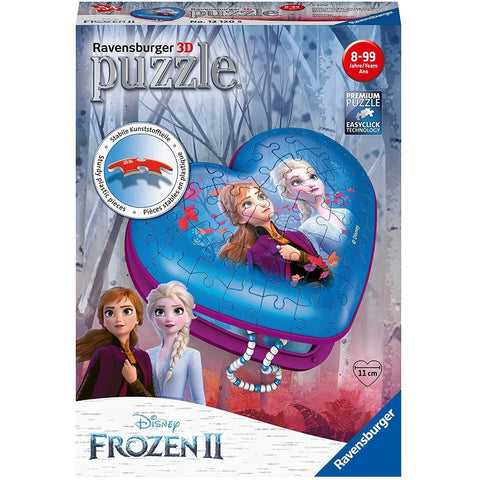 RAVENSBURGER Frozen 2 3D Puzzle Heart 54pc