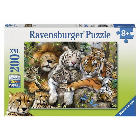 Ravensburger Big Cat Nap Puzzle 200pc (RB12721-4)