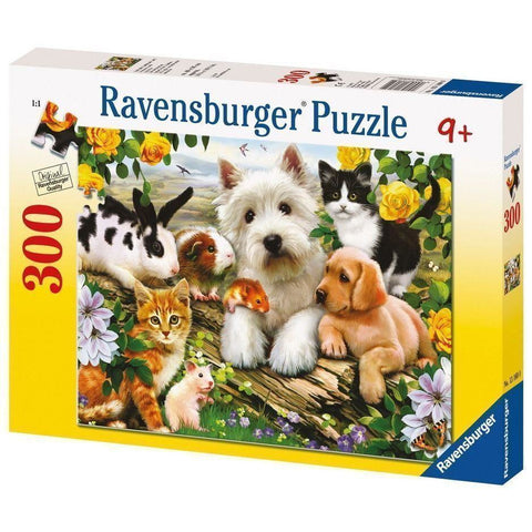 Ravensburger Happy Animal Babies Puzzle 300pc (RB13160-0)