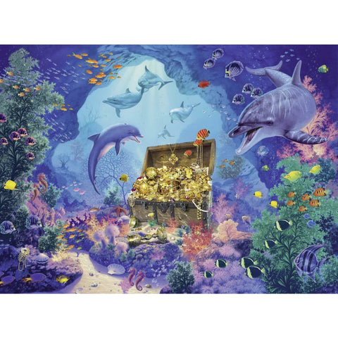 Ravensburger - Deep Sea Treasure Puzzle 300pc (RB13255-3)