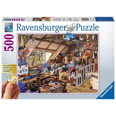 Rburg - Grandmas Attic Puzzle 500pc