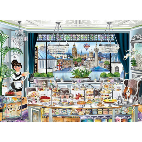 Ravensburger - Wanderlust London Tea Party 1000pc (RB13985-