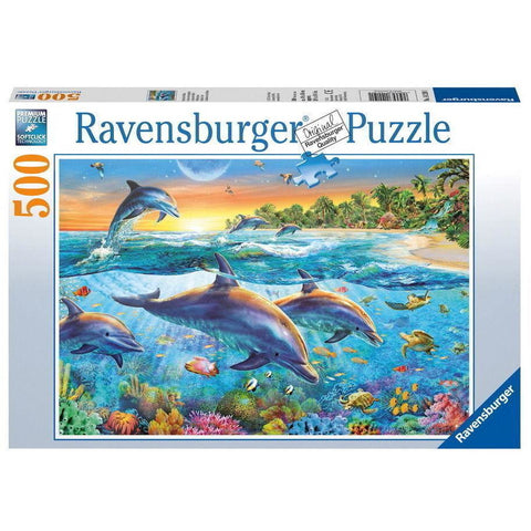 Ravensburger Dolphin Cove Puzzle 500pc (RB14210-1)