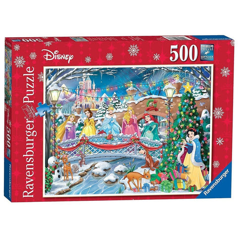 Ravensburger - Disney Princess Christmas Puz 500pc