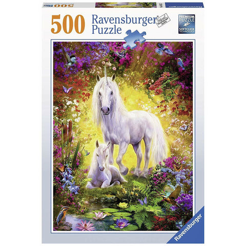 Ravensburger - Unicorn and Foal Puzzle 500pc (RB14825-7)