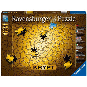 Ravensburger - KRYPT Gold Spiral Puzzle 631pc (RB15152-3)