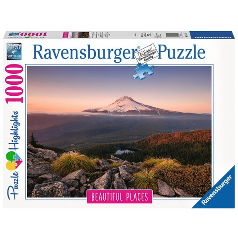 Ravensburger - Mount Hood, Oregon, USA Puzzle 1000pc (RB151