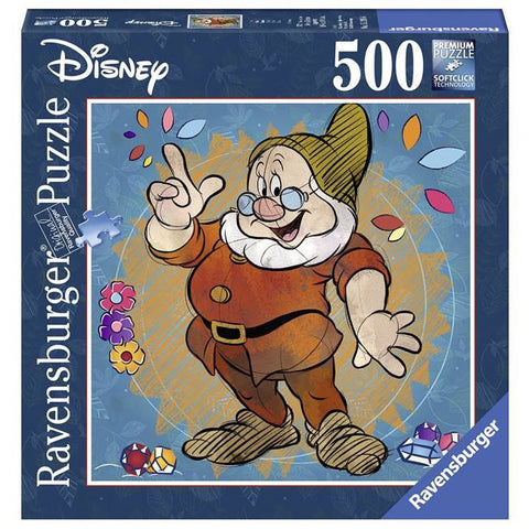 Ravensburger - Disney Doc Puzzle 500pc Square