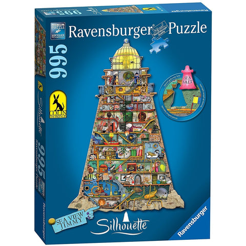 Rburg - Silhouette Ludicrous Lighthouse 995pc