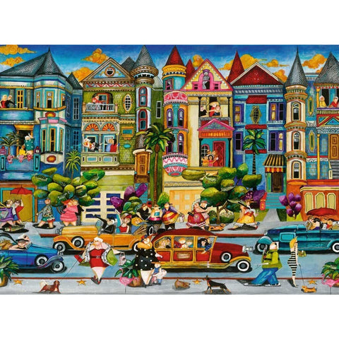 Rburg - The Painted Ladies Puzzle 1500pc
