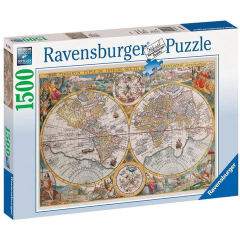 Rburg - Historical Map Puzzle 1500pc