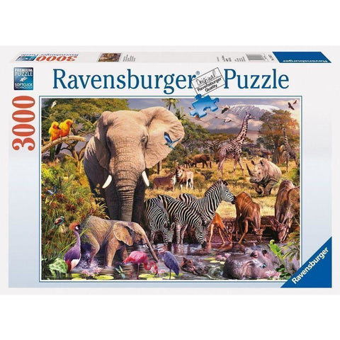 Ravensburger African Animal World Puzzle 3000pc (RB17037-1)