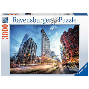 Ravensburger Flat Iron Building Puzzle 3000pc