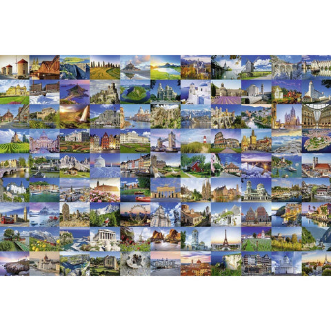 RAVENSBURGER 99 Beautiful Places of Europe 3000pc (RB1708