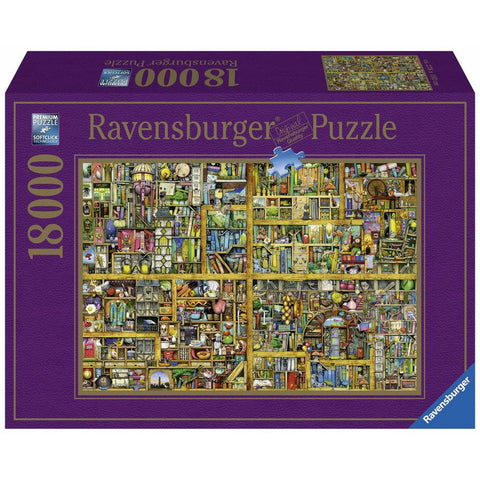 Rburg - Magical Bookcase Puzzle 18000pc