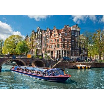 Ravensburger - Canal Tour in Amsterdam Puzzle 1000pc (RB191