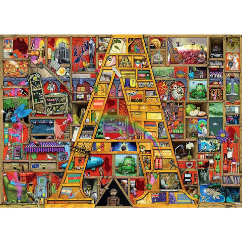 RAVENSBURGER Awesome Alphabet A Puzzle 1000pc