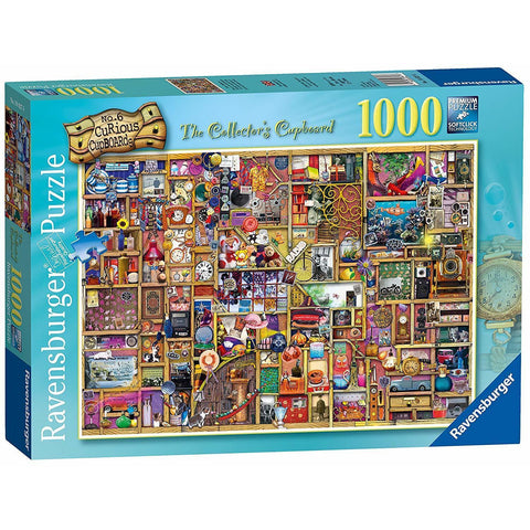 RAVENSBURGER The Collector's Cupboard Puzzle 1000pc