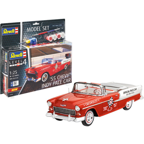 REVELL `55 Chevy Indy Pace Car 1/25 Scale