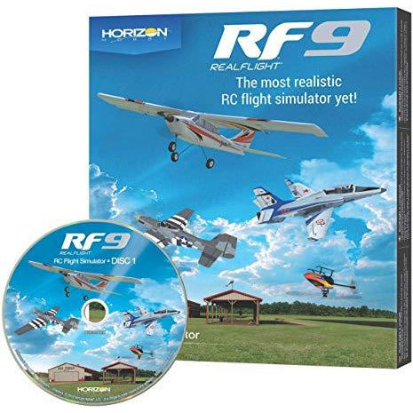 REAL FLIGHT RF9 Flight Simulator (Software Only)