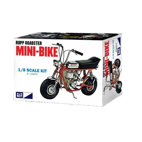 MPC 1:8 Rupp Mini Bike Red Motorbike Plastic Kit