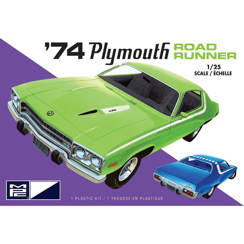 MPC 1/25 1974 Plymouth Road Runner 2T Plastic Kit