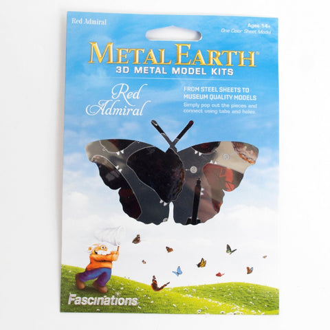 Metal Earth - Butterfly Red Admiral