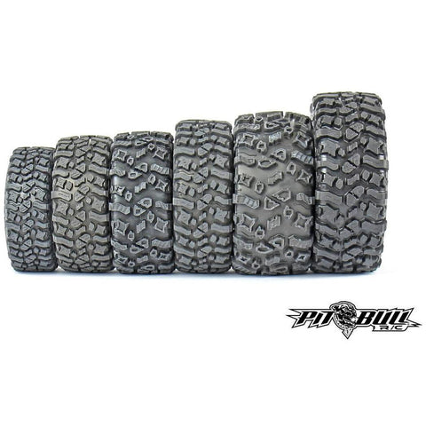 Image of PIT BULL Rock Beast 1.55 Scale RC Tires 2pcs