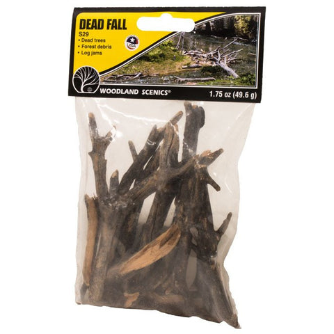 WOODLAND SCENICS Dead Fall 1.75 oz