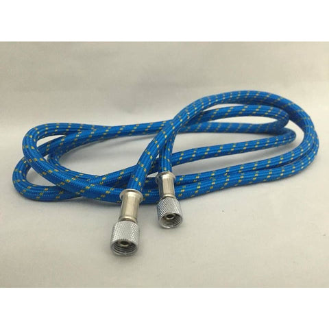 "SIGNATURE Braided Hose Blue - 1/8"" Female <-> 1/8"" Female"