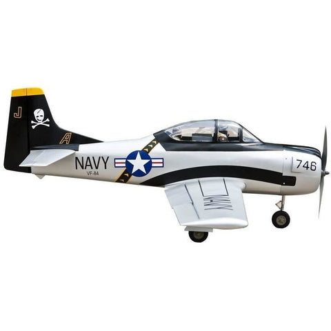 SEAGULL Model North American T-28 Trojan RC Plane, 15cc ARF