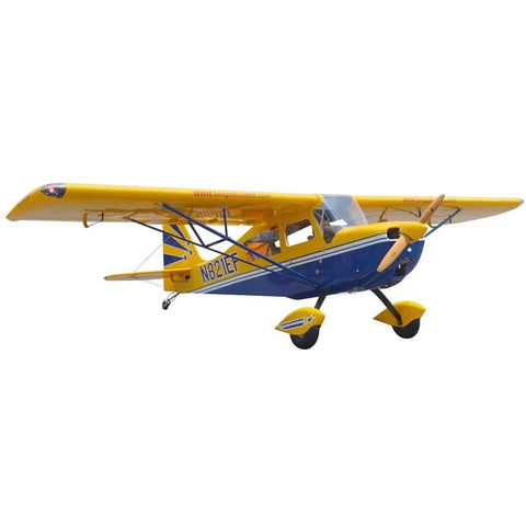 Seagull Models Decathlon RC Plane, 50cc ARF, Yellow