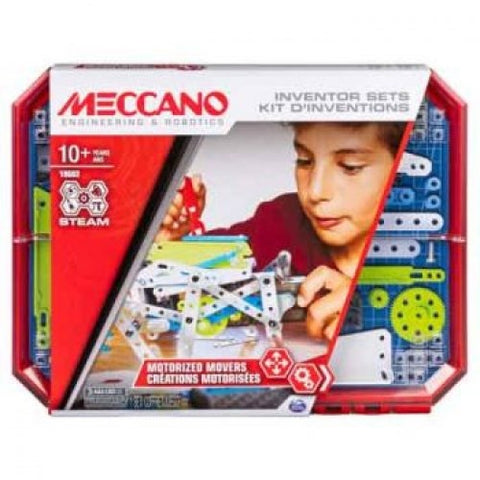 MECCANO Set 5 Motorized Movers Kit
