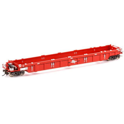AUSCISION HO - PWWY Well Wagon SCT Red - 4 Car Pack