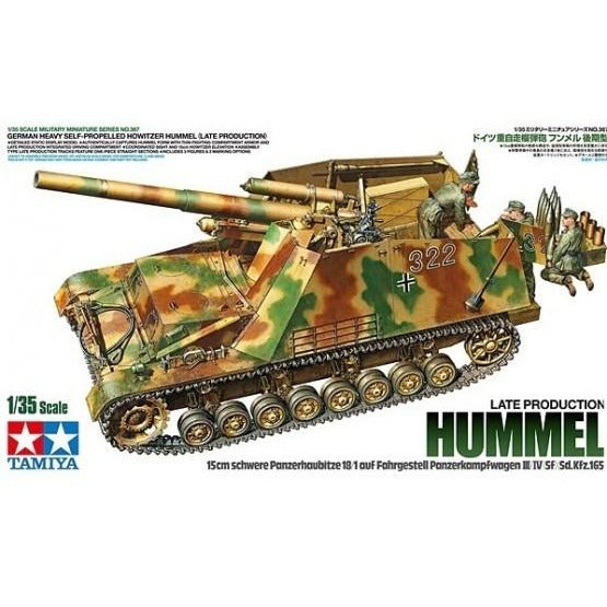 TAMIYA 1/35 Scale German Heavy Self-Propelled Howitzer Hummel (Late Production) (T35367)