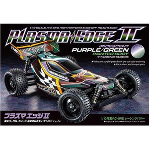 TAMIYA 1/10 Plasma Edge II RC Off Road Kit (Purple/Green)