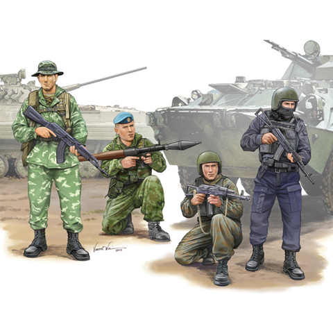 TRUMPETER 1/35 Russian Special Operation Force (TR00437)