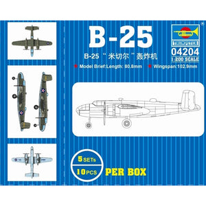 Trumpeter 1/200 B-25 Plastic Model Kit (TR04204)