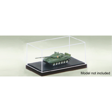 TRUMPETER 09811 PLASTIC DISPLAY CASE 90 X 51 X 38MM