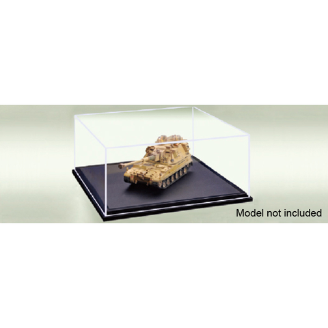 PLASTIC TRANSPARENT CASE 170X170X70MM