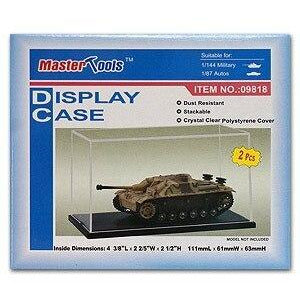 Trumpeter 09818 Plastic Display Case 111 x 61 x 63mm