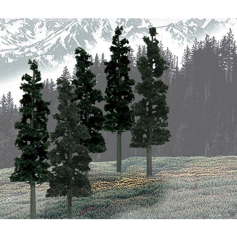 "WOODLAND SCENICS 6"" - 8"" Ready Made Pine Value Pack (12/Pk)"