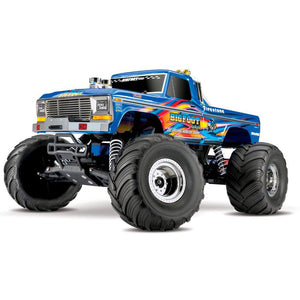 TRAXXAS BIGFOOT NO.1 REPLICA MONSTER TRUCK,TQ 2.4GHZ,XL-5 E